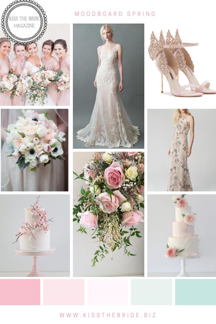5 Spring Wedding colour schemes for..