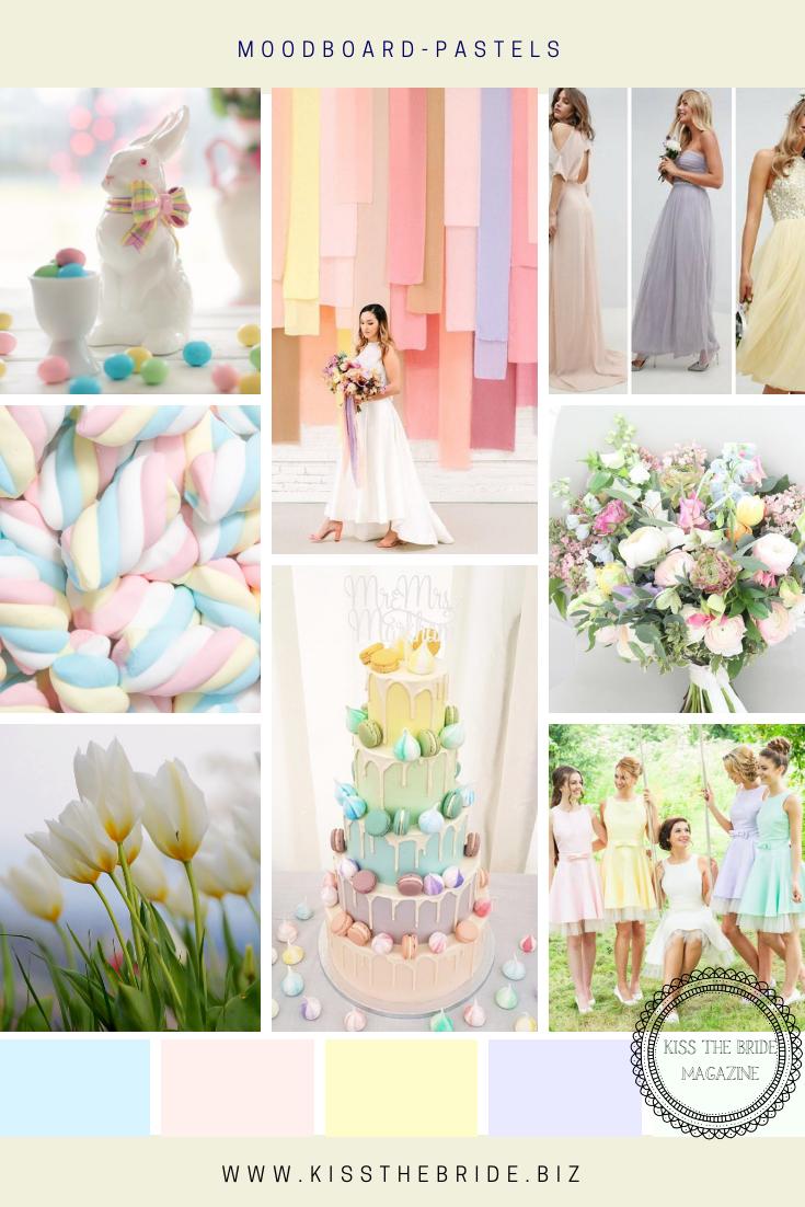 Pastel wedding ideas