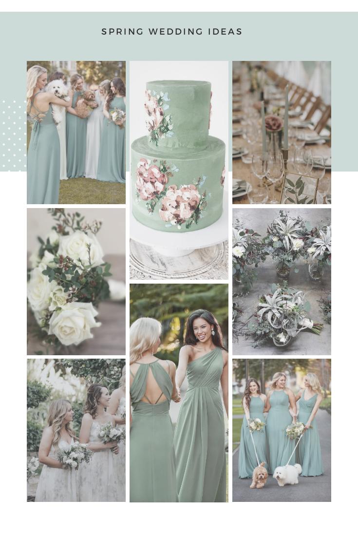 Sage Green wedding colour scheme