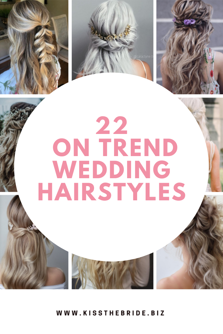 On trend Wedding hairstyles