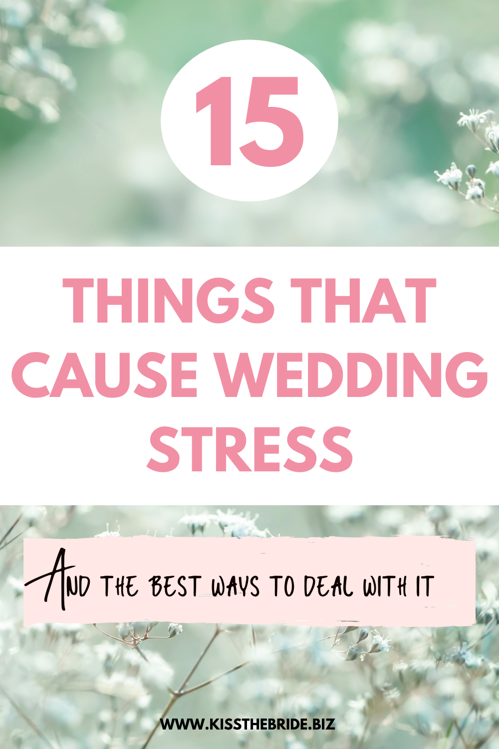 15 Causes of Wedding Stress