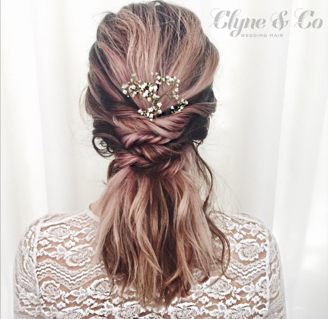 Halfup wedding hairstyles