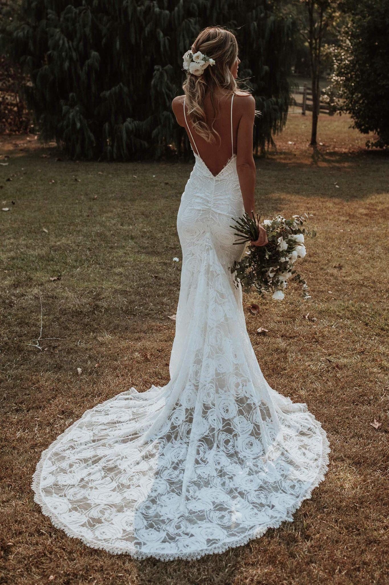 Grace loves lace clo wedding dress