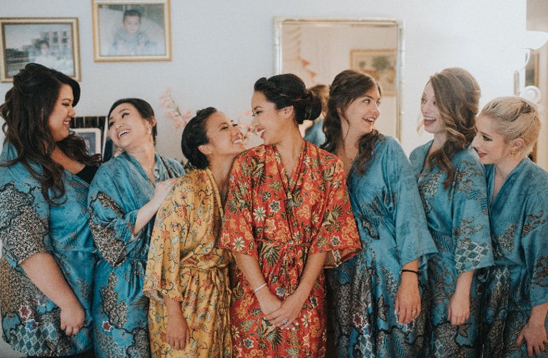 Bridesmaid kimono