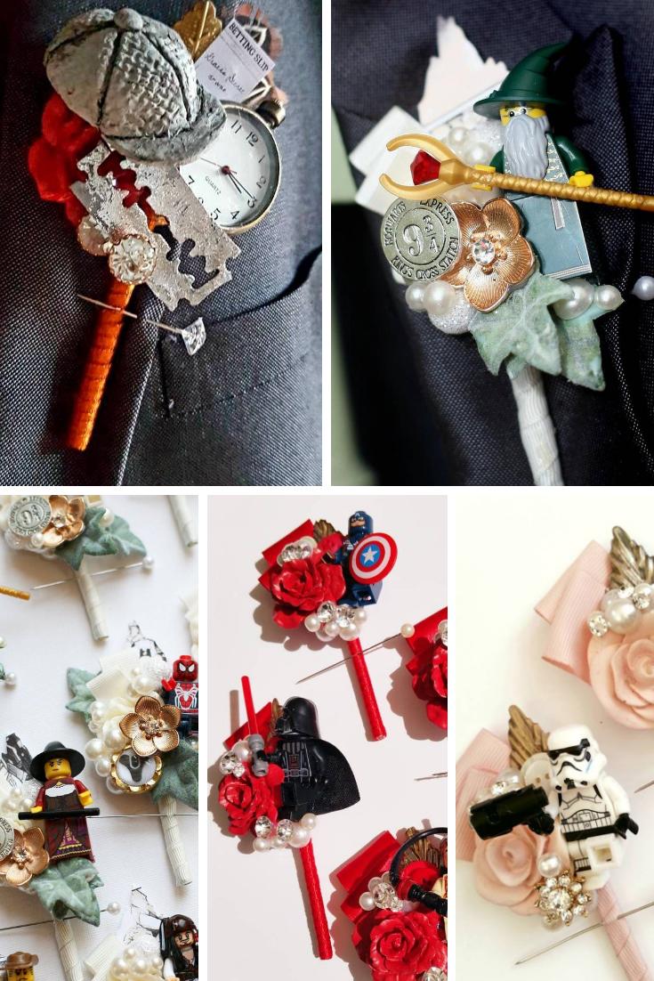 Wedding Button hole ideas