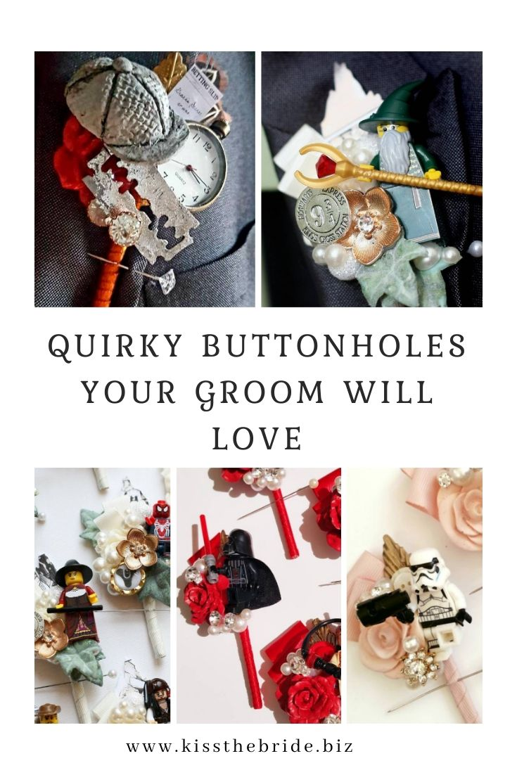 Alternative buttonholes