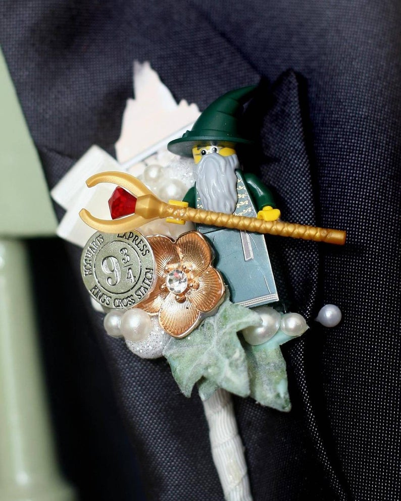 Lord of the Rings buttonholes