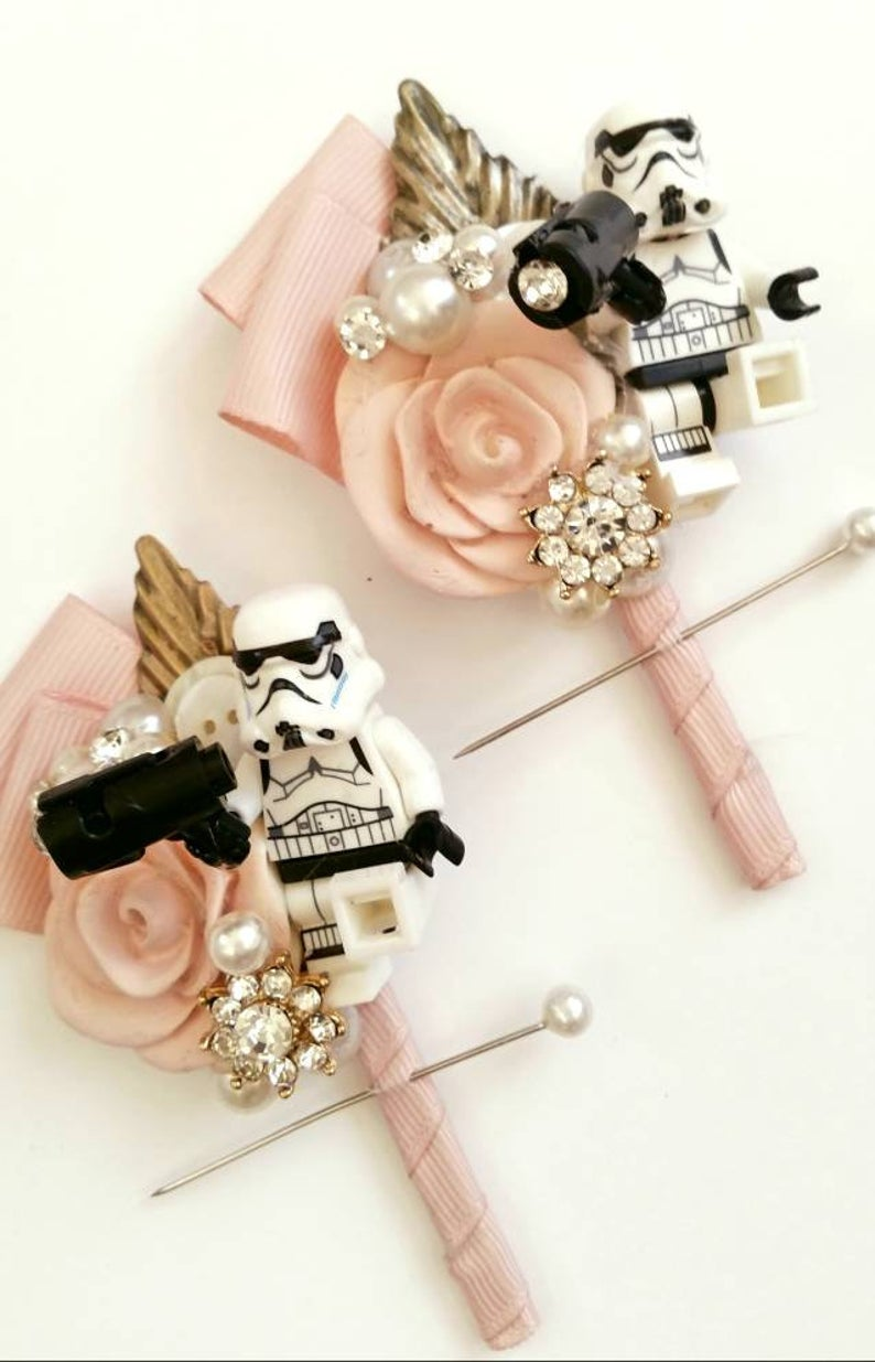 Star wars buttonholes