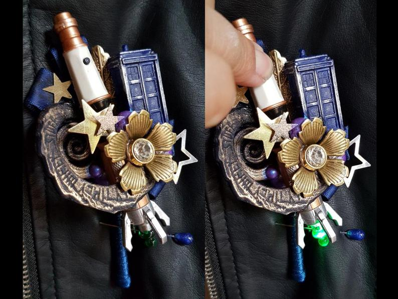 Doctor who buttonholes