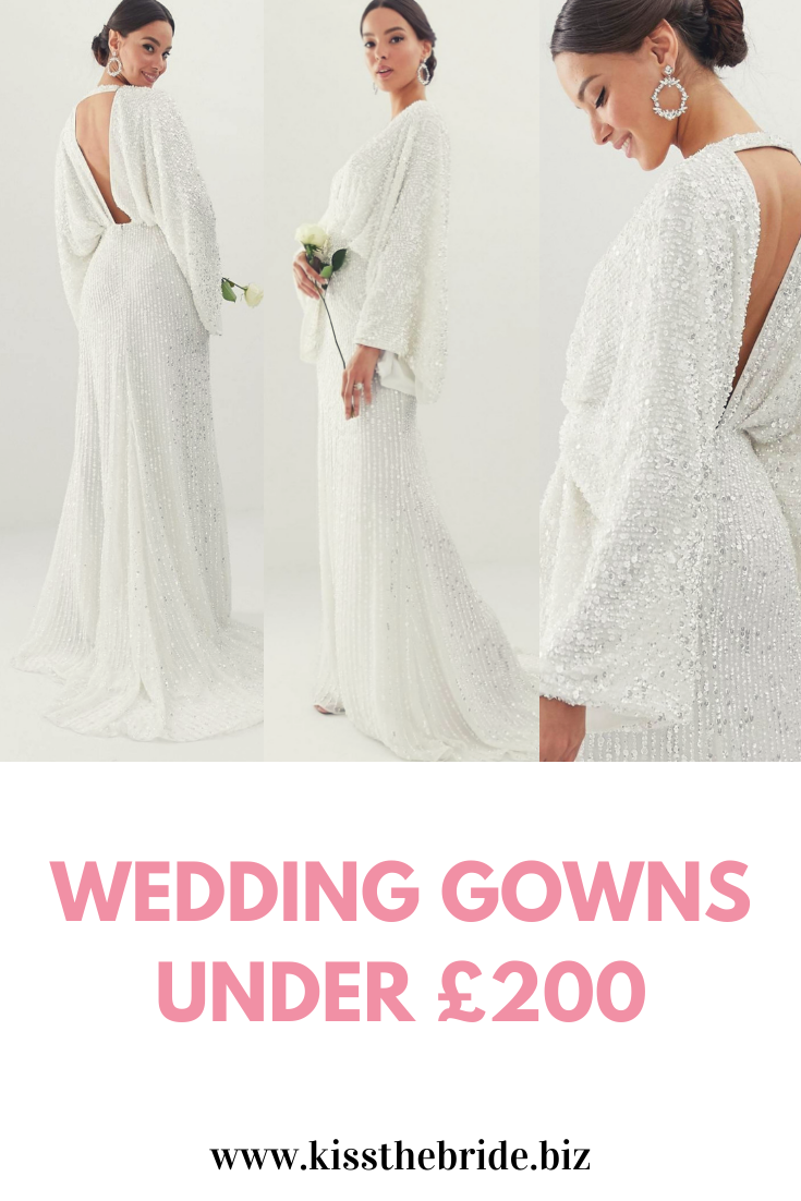 Wedding gowns under £200