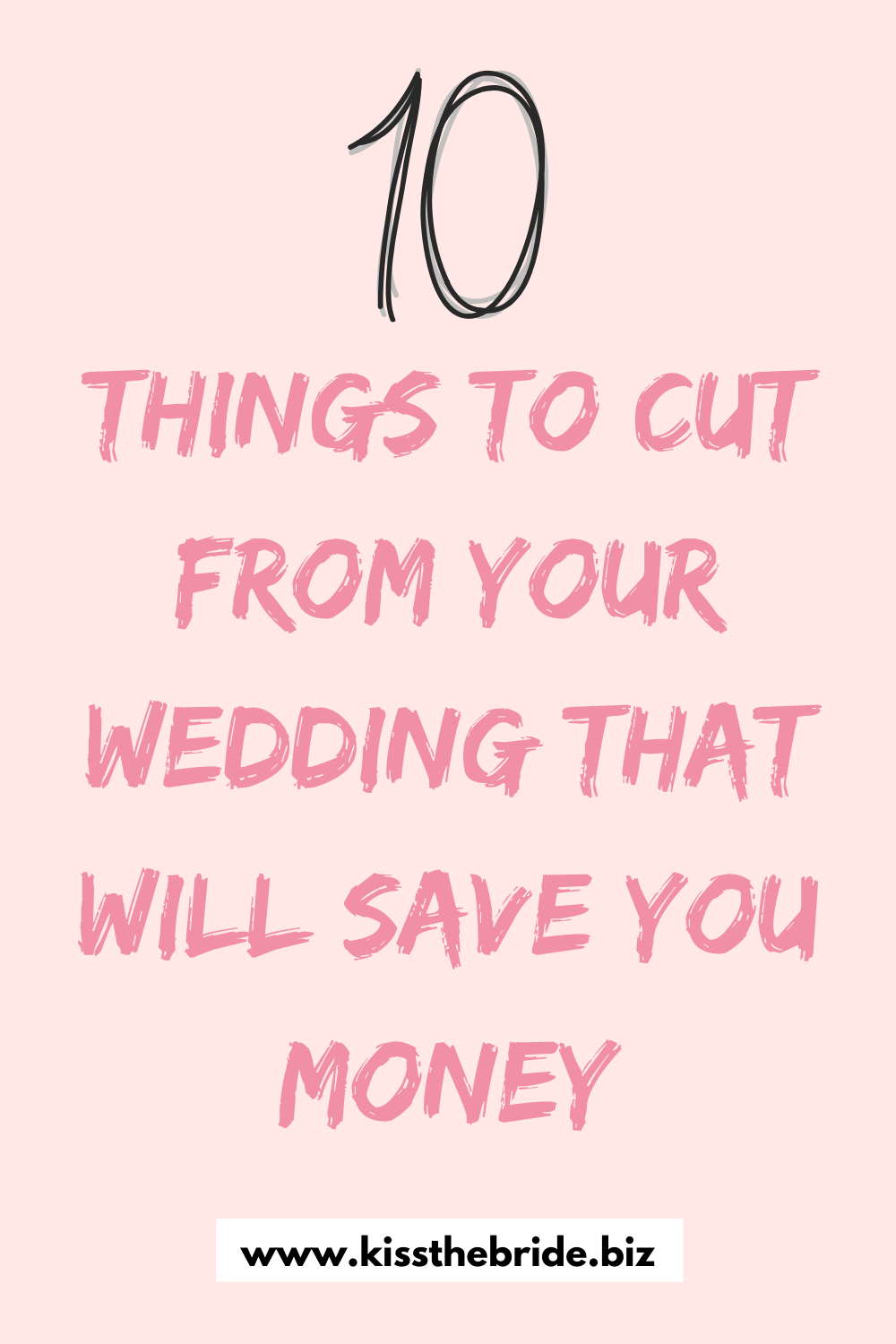 Wedding things that waste money