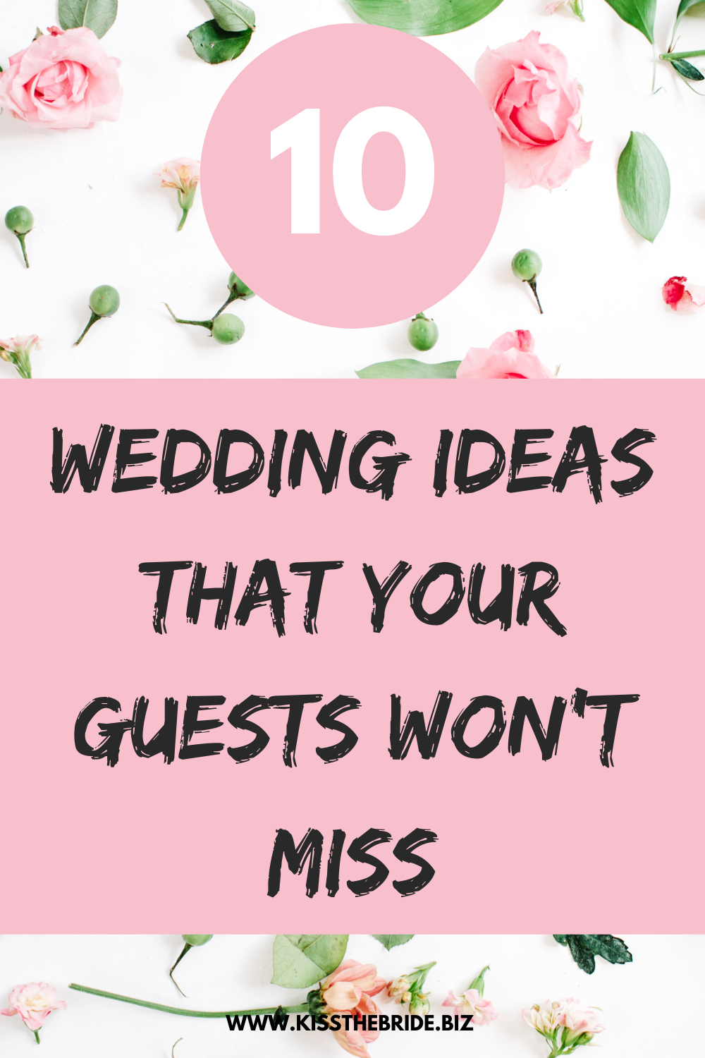 Wedding ideas you don't need