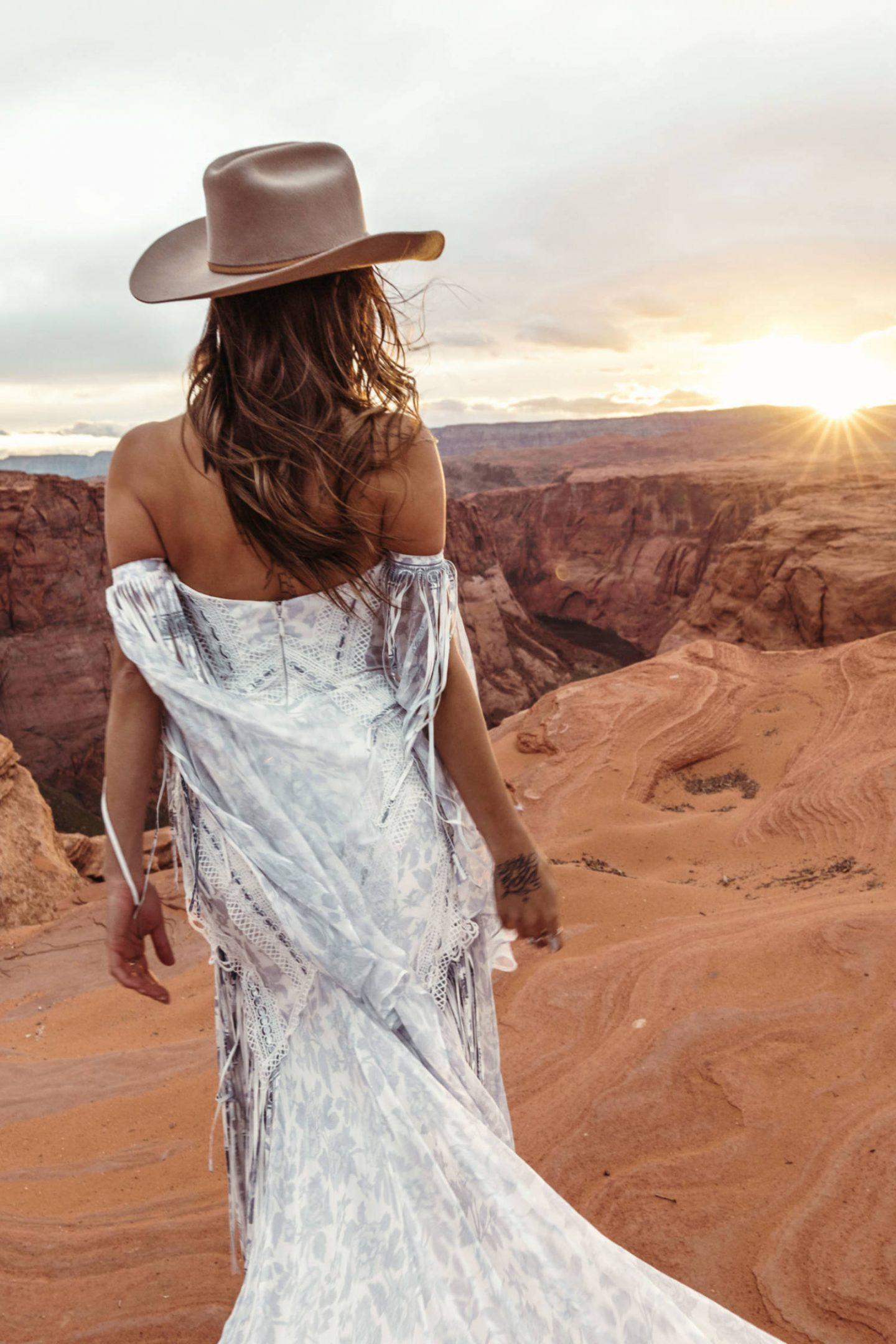 Blue Bayou wedding gown