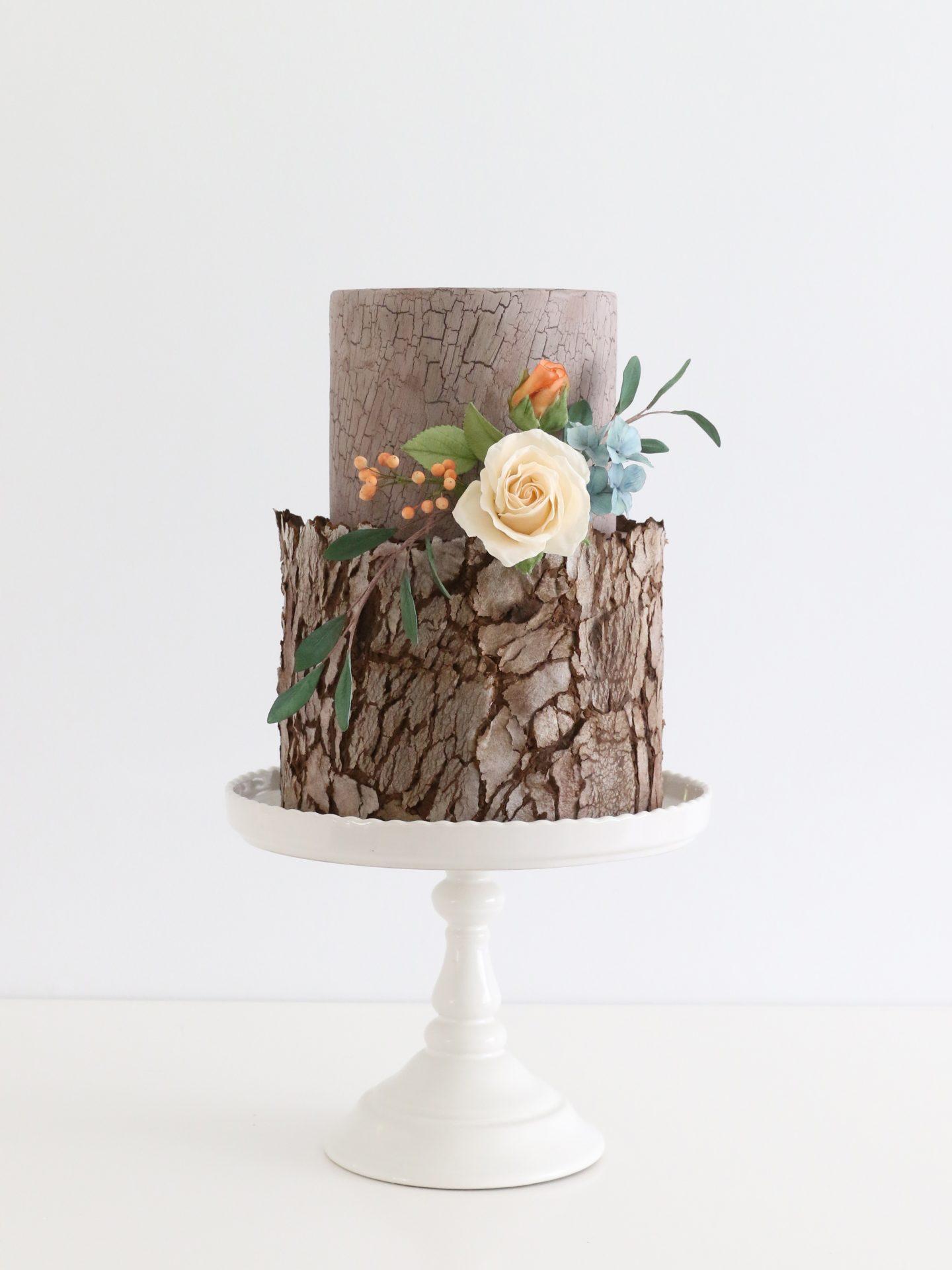 Woodland Tree wedding cake