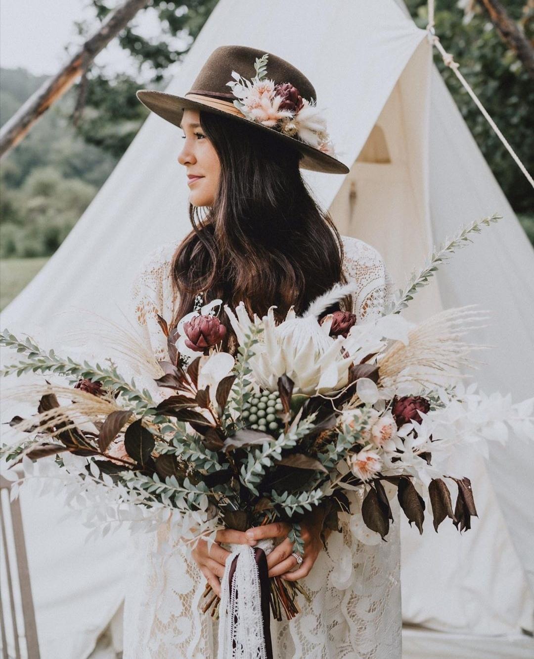 Protea Bridal bouquets