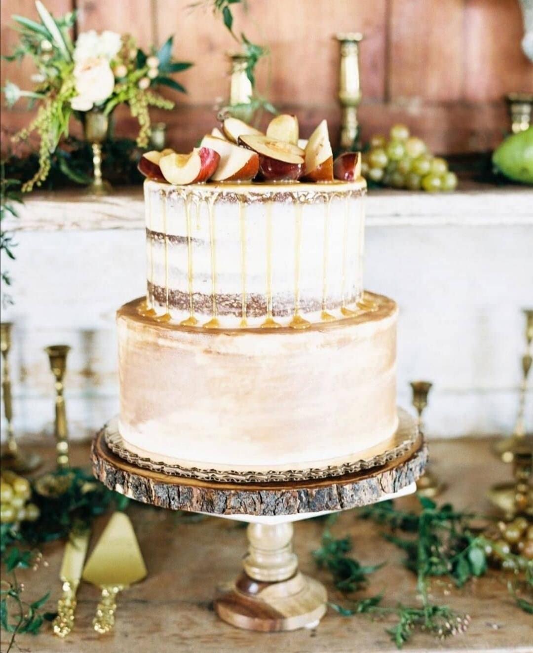 Autumn wedding cake ideas