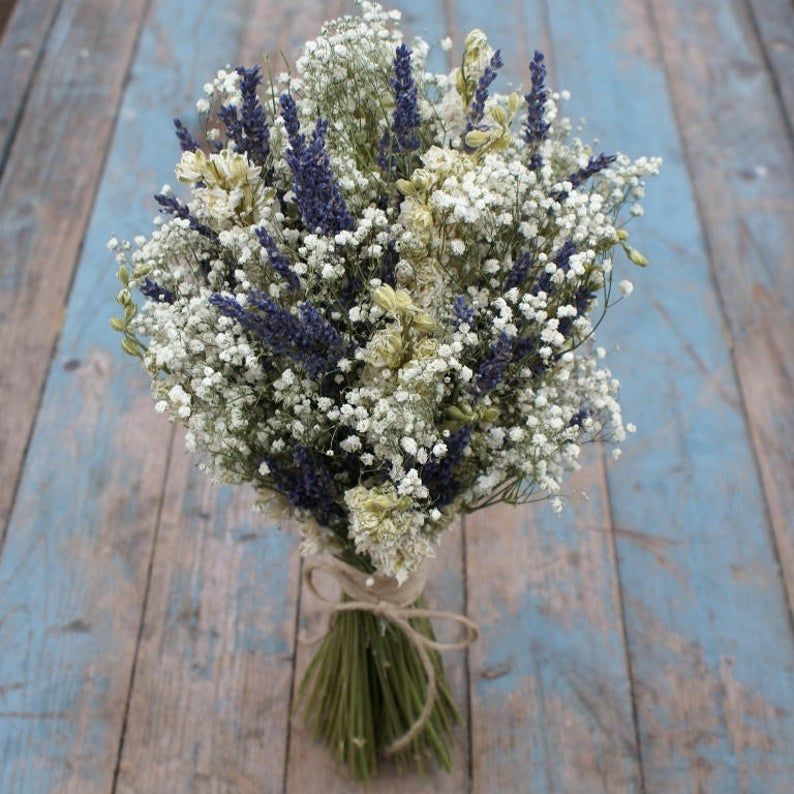 Lavender twist bouquet