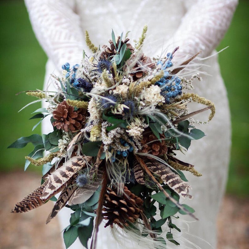 Winter wedding bouquet