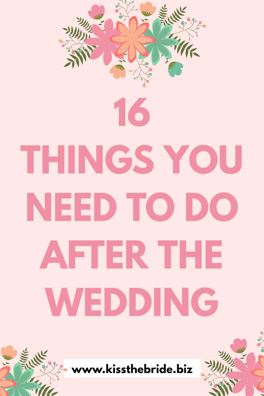 Wedding to do lists