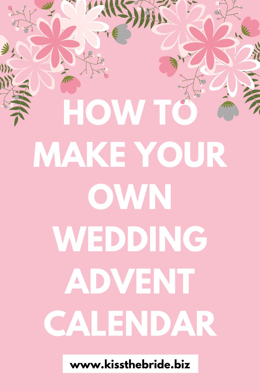 Wedding Countdown DIY