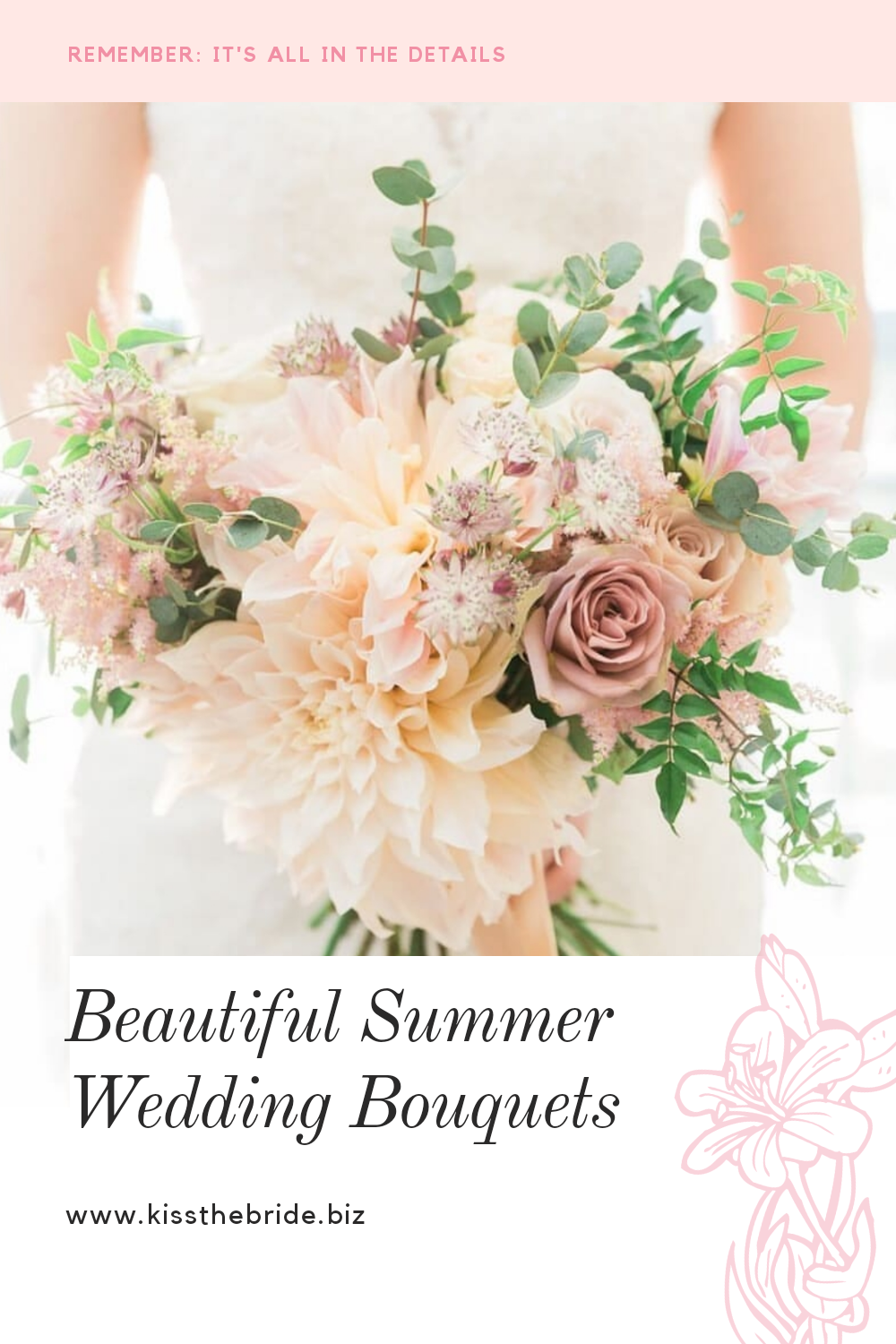 Beautiful Summer Wedding Bouquets