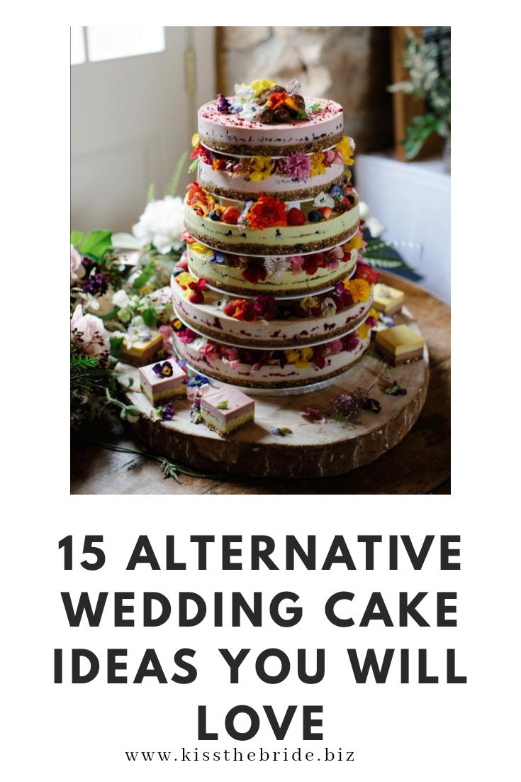 Alternative wedding cake ideas