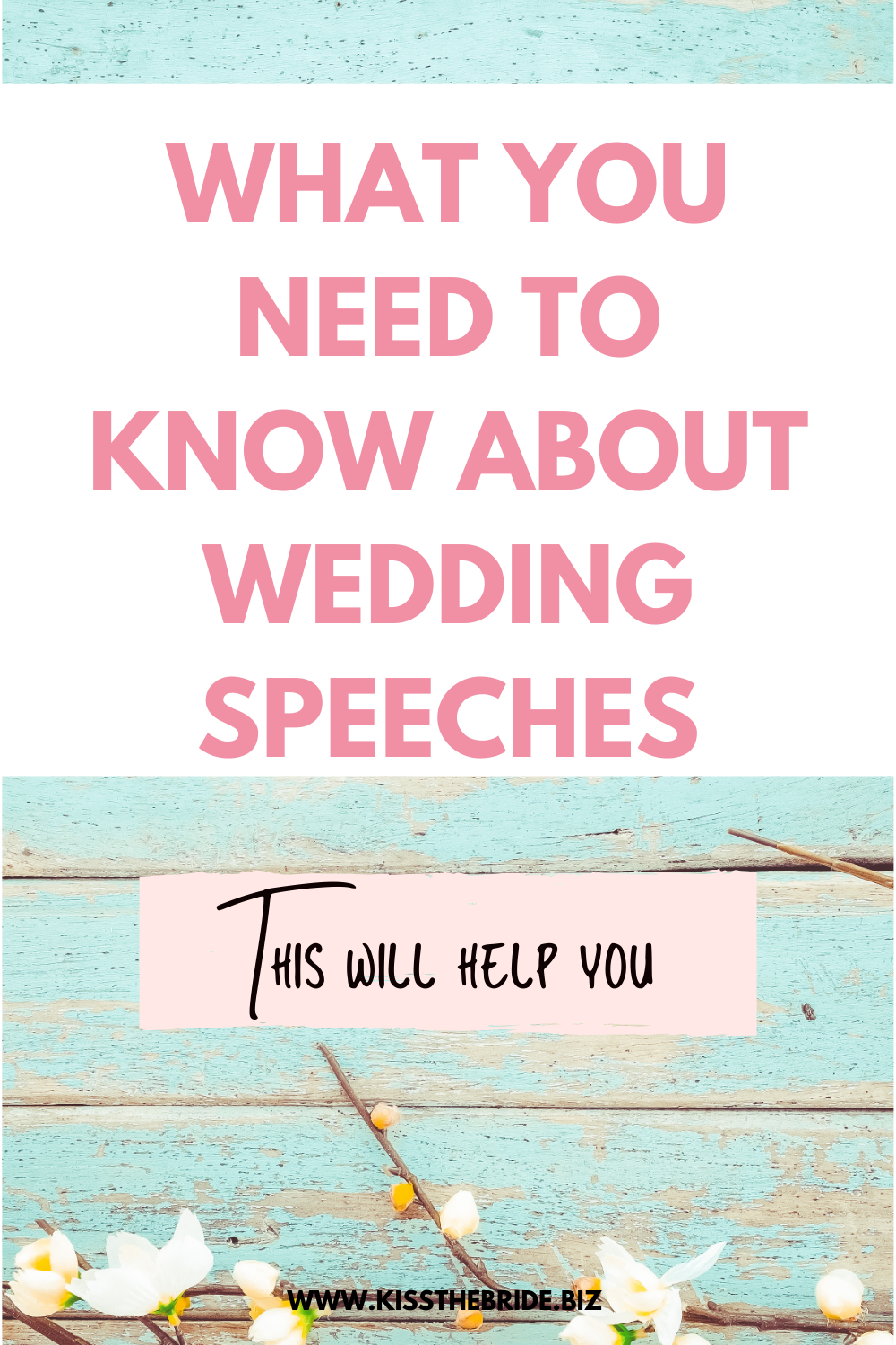 Wedding speech advice