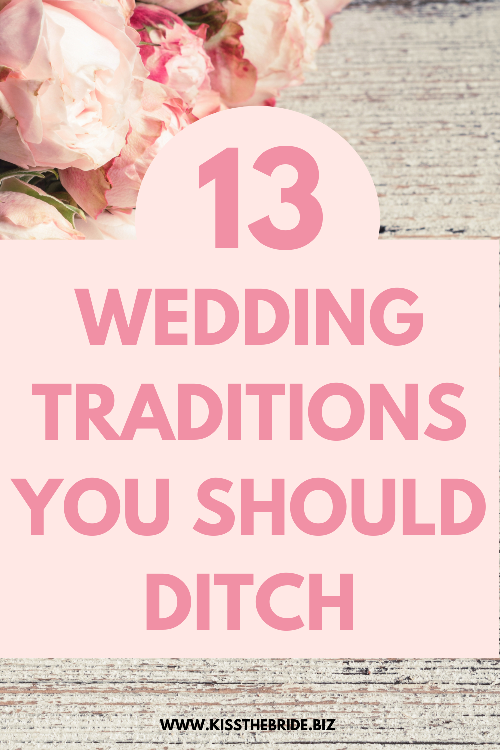 Wedding Traditions that you don't need