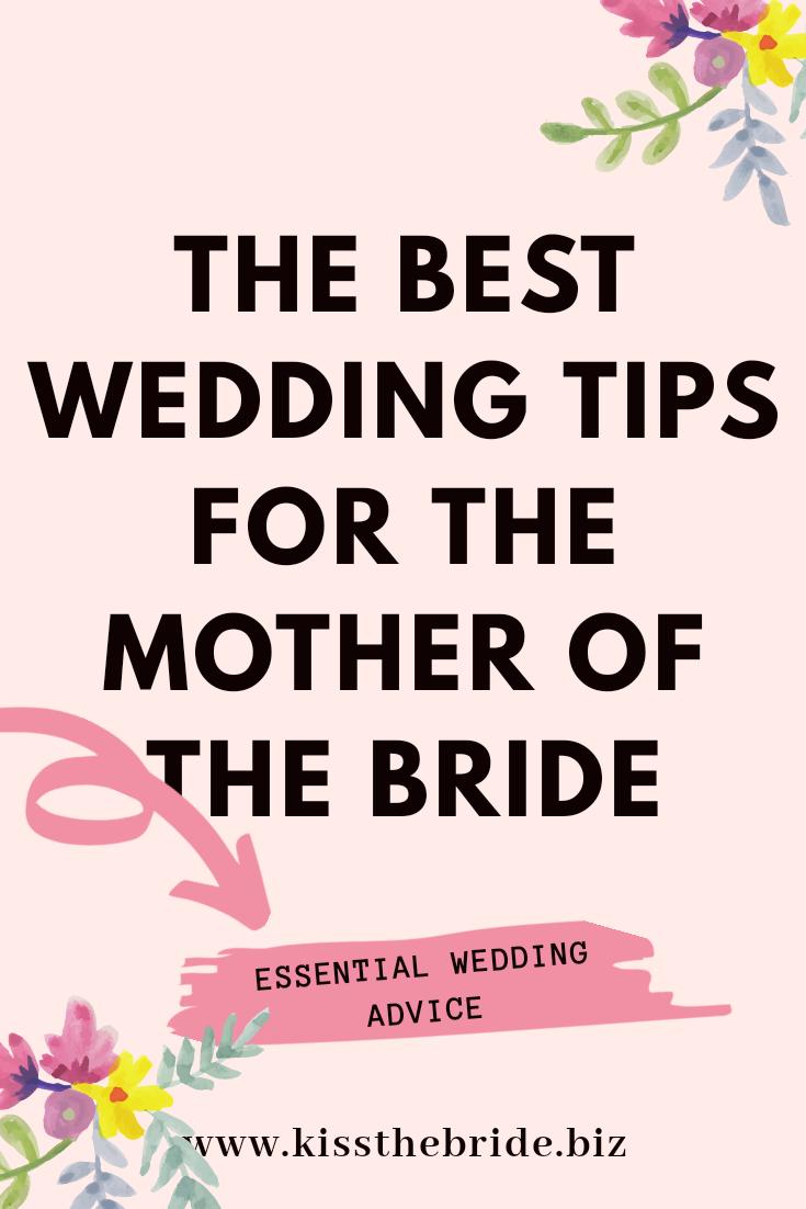 Best mother of the Bride Wedding tips