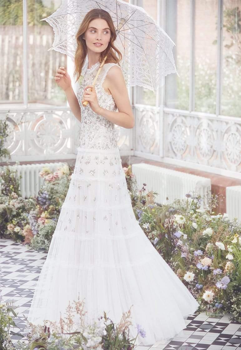 2020 needle and thread wedding dress