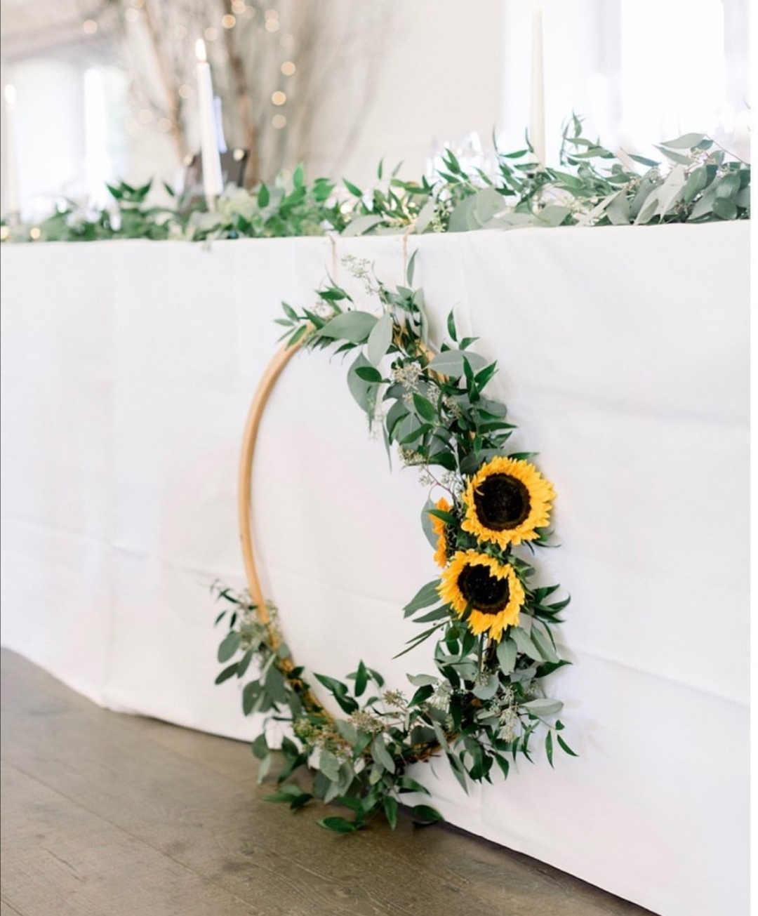 Sunflower Wedding Decor