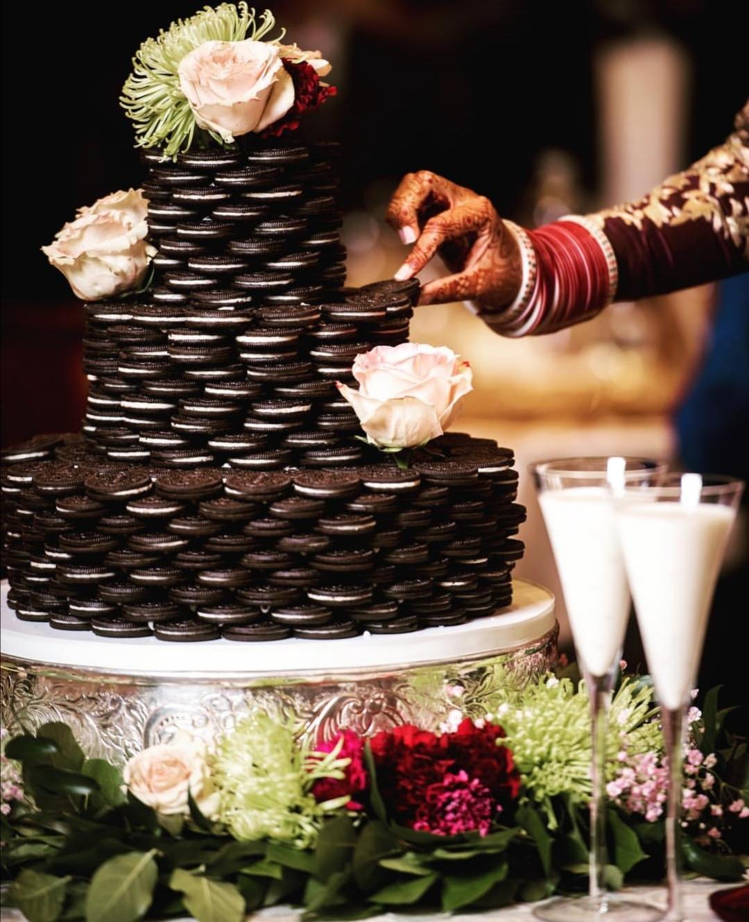 Oreo Wedding Stack
