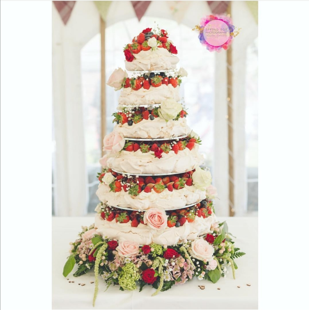 Pavlova Wedding Cake Ideas