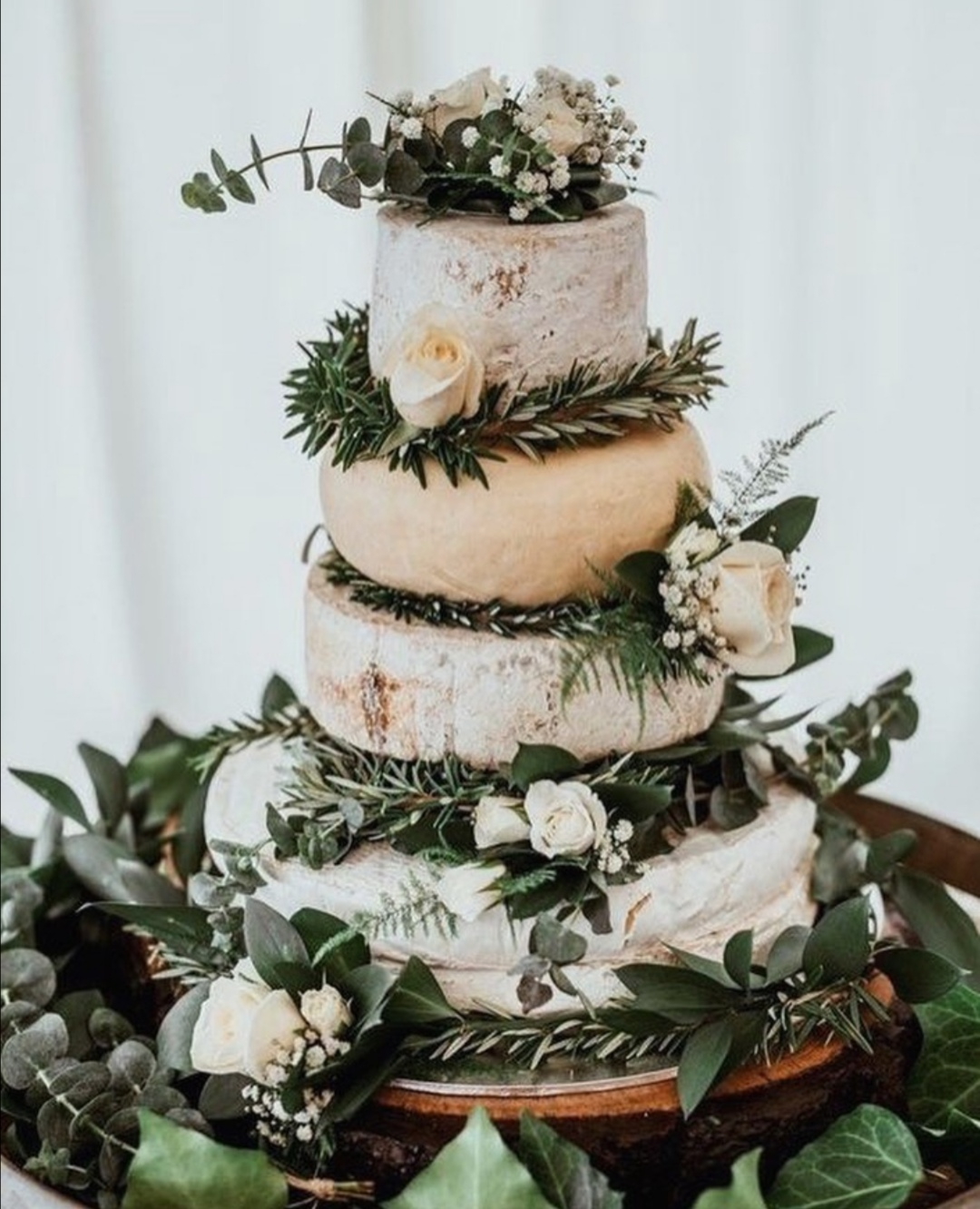 Cheese Wedding stack