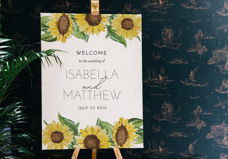 Sunflower Table plan