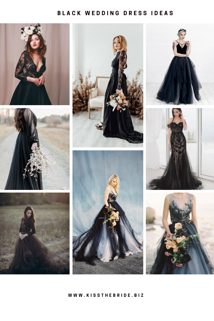 Black Wedding Dresses