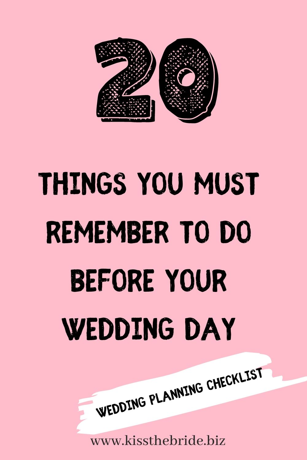 20 wedding details you may forget while planning your big day