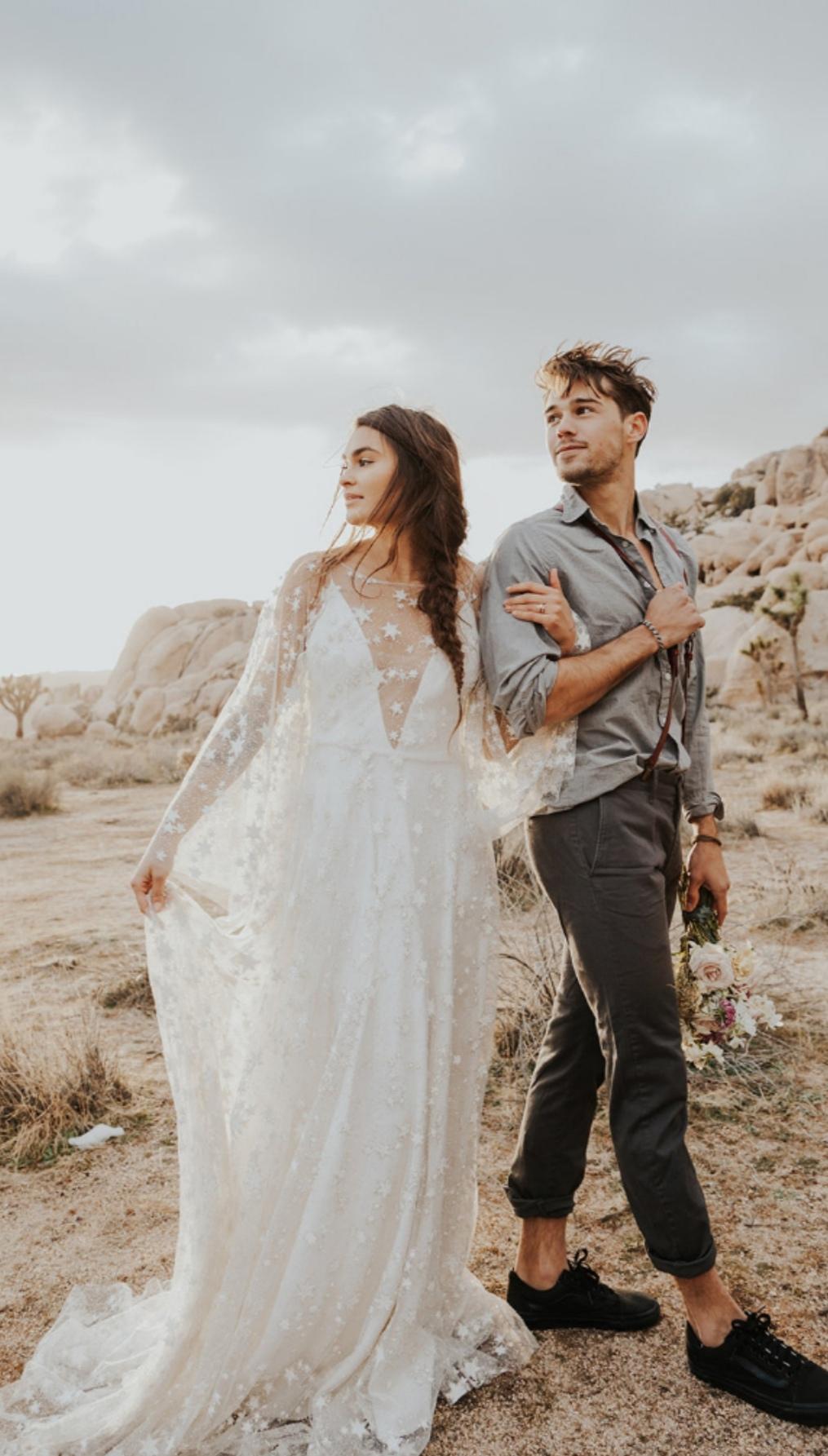 Star wedding dresses