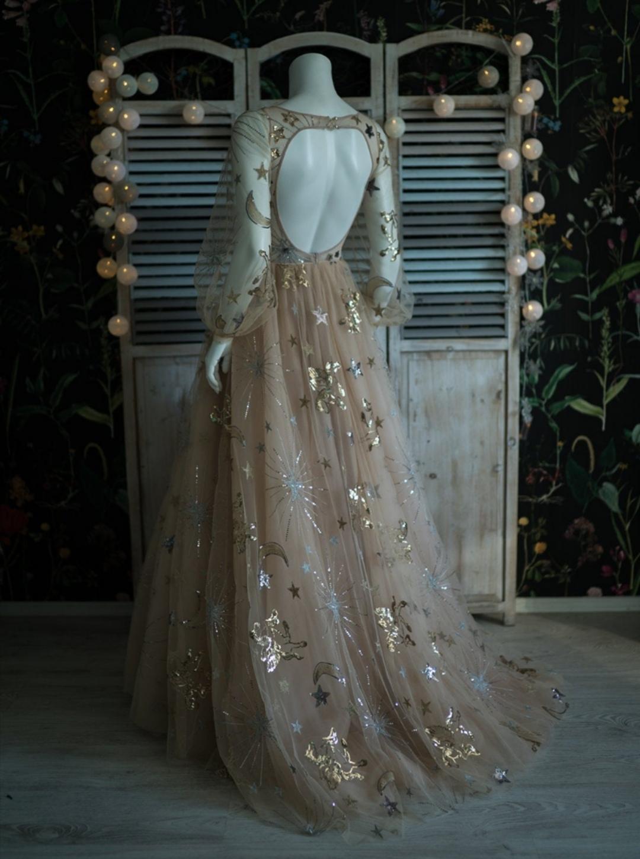 Stars wedding dresses